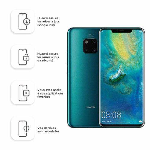 appareils Huawei Mate 20 PRO Smartphone debloqué 4G double SIM