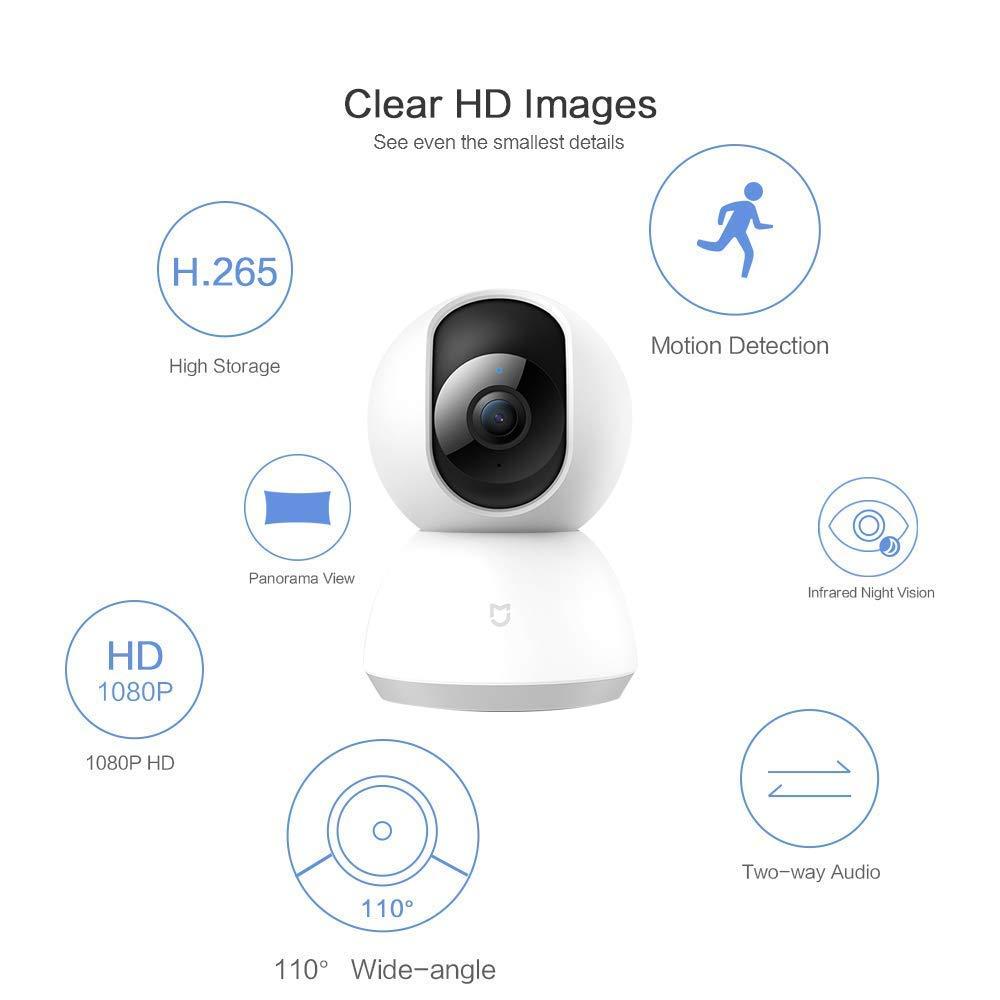 appareils Xiaomi mi home camera HD 1080P 360°