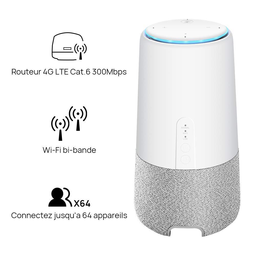 appareils huawei AI Cube enceinte et routeur 4G